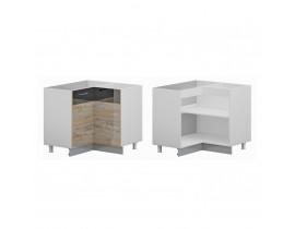 Стол кухонный угловой (900*900) (с 2 мя фасадами) (б/ст.) ЛОФТ