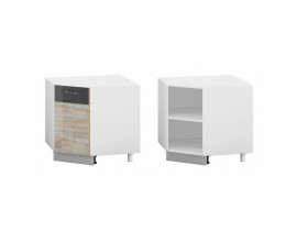 Стол кухонный угловой (900*900) (б/ст.) ЛОФТ
