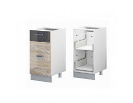 Стол кухонный (400) с 2 выдвижными ящиками (б/ст) ЛОФТ