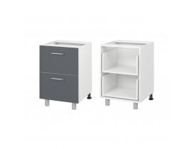 НЛ40 - Шкаф - стол кух. с ящиками (600) Наталья люкс