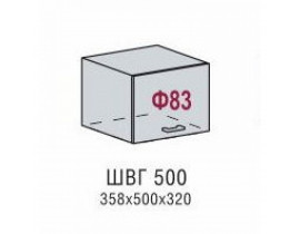 Шкаф верхний ШВГ 500