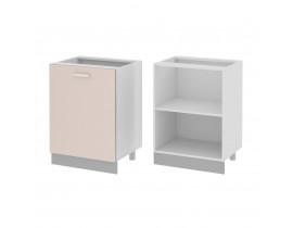Стол кухонный 1 дверный (600)(б/ст) ГЛОРИЯ
