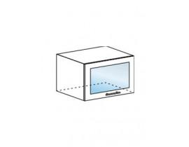 Шкаф верхний горизонтальный со стеклом ШВГС 600
