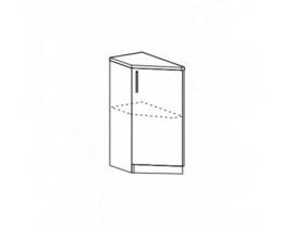 Модульная кухня Лофт-Рио, шкаф нижний торцевой ШНТ-300