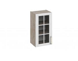 Шкаф верхний со стеклом В-72-40-1ДРс