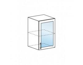 Валерия шкаф верхний со стеклом ШВС-500
