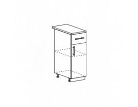 шкаф нижний с 1 ящиком ШН1Я-300 Прага