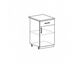 шкаф нижний с 1 ящиком ШН1Я-500 Прага