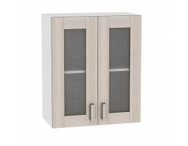 Шкаф верхний с 2-мя остекленными дверцами 720 Ш600 Лофт Виват