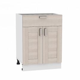Шкаф нижний с 2-мя дверцами и ящиком Лофт Виват