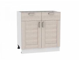 Шкаф нижний с 2-мя дверцами и 2-мя ящиками Лофт Виват
