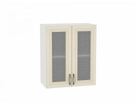 Шкаф верхний с 2-мя остекленными дверцами 920/600 Шале