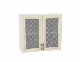 Шкаф верхний с 2-мя остекленными дверцами 720/800 Шале