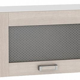 Шкаф верхний горизонтальный остекленный 600 Лофт Виват
