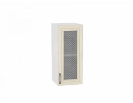 Шкаф верхний с 1-ой остекленной дверцей 920/300 Шале