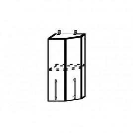 ОРИО ВПТ-400 шкаф верхний торцевой