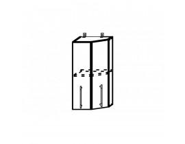 ОРИО ШВТ-400 шкаф верхний торцевой