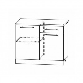 ОРИО ШН-1000х600 шкаф нижний