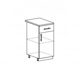 ОРИО ШН1Я-400 шкаф нижний с ящиком