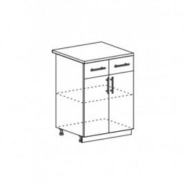 ОРИО ШН2Я-600 шкаф нижний с ящиком
