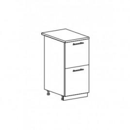 ОРИО ШНК2-400 шкаф нижний комод (2 ящика)