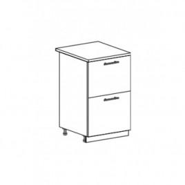ОРИО ШНК2-500 шкаф нижний комод (2 ящика)
