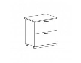 ОРИО ШНК2-800 шкаф нижний с 2 ящиками