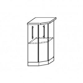 ОРИО ШНТ-400 шкаф нижний торцевой угловой