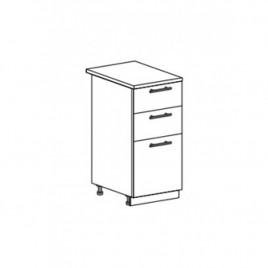 ОРИО ШНЯ-400 шкаф нижний с 3 ящиками