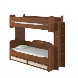 Кровать 2х ярусная 800 с настилом Г865хШ2135хВ1810 мм