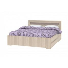 Кровать 1600 с ящиком Г2100хШ1664хВ855мм.