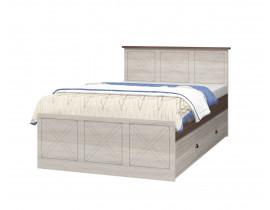 Кровать без ящика Г2074хШ1270хВ983мм с настилом