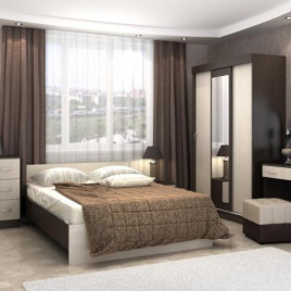 Спальня Бася - 4 модульная