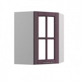 ВПУС-550 угловой навесной шкаф со стеклом ТИТО