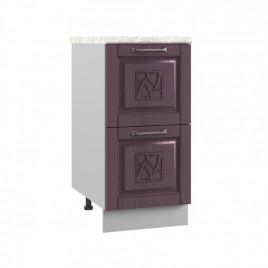 ШНК2-400 шкаф нижний комод (2 ящика) ТИТО