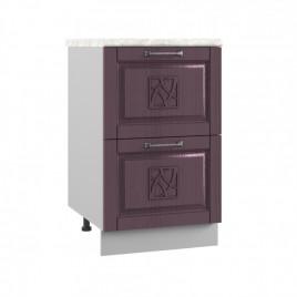 ШНК2-500 шкаф нижний комод (2 ящика) ТИТО