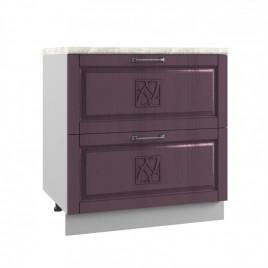 ШНК2-800 шкаф нижний с 2 ящиками ТИТО