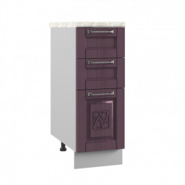 ШНЯ-300 шкаф нижний с 3 ящиками ТИТО