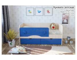 Односпальная кровать для детской комнаты Техно 1,4 м