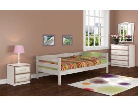 Кровать Глория дуб белый