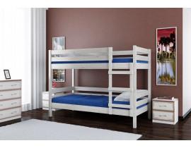 Кровать Джуниор двухъярусная дуб белый