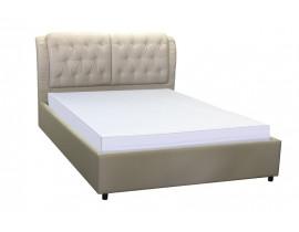 Кровать Монако экокожа бежевая