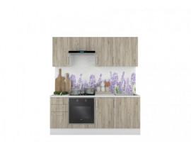 Кухня Европа-5 серый крафт