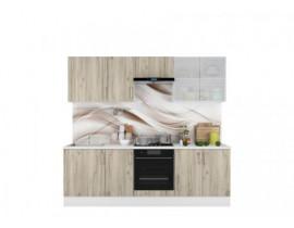 Кухня Европа-6 серый крафт