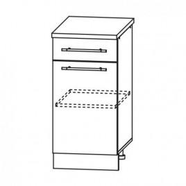 ЛОФТ ДСВ ШН1Я-400 шкаф нижний с ящиком