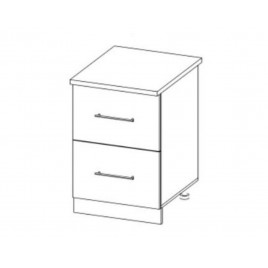 ЛОФТ ДСВ ШНК2-400 шкаф нижний комод (2 ящика)