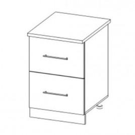 ЛОФТ ДСВ ШНК2-500 шкаф нижний комод (2 ящика)