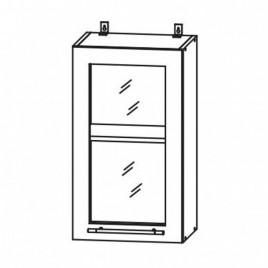 ЛОФТ ДСВ ШВС-300 шкаф навесной со стеклом
