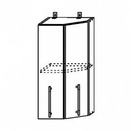 ЛОФТ ДСВ ШВТ-400 шкаф верхний торцевой