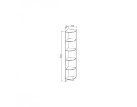 Шкаф торцевой ШТ340.1 Ницца